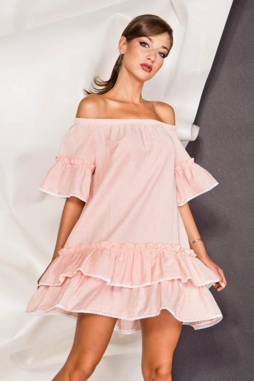 Платье 3378 розовый