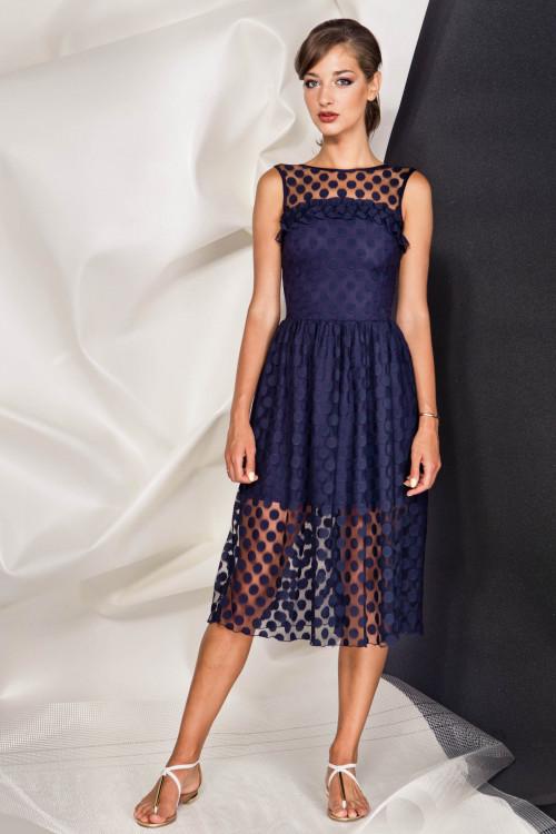 Платье 3364 синий