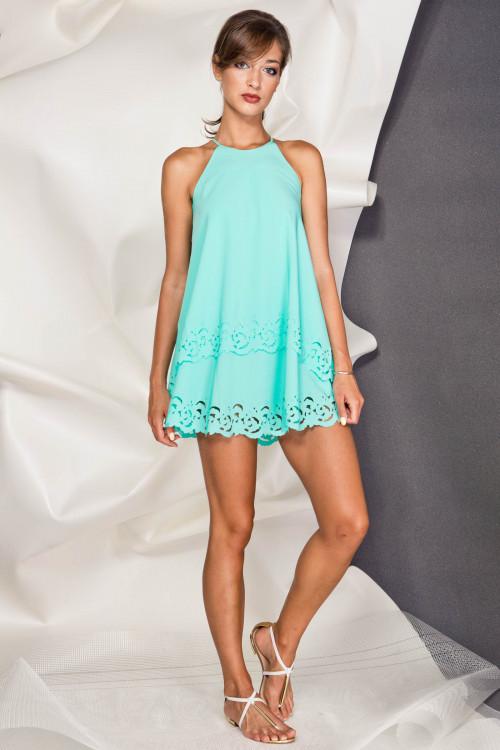 Платье 3279 мята