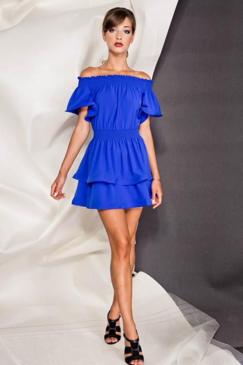 Платье 3289 электрик