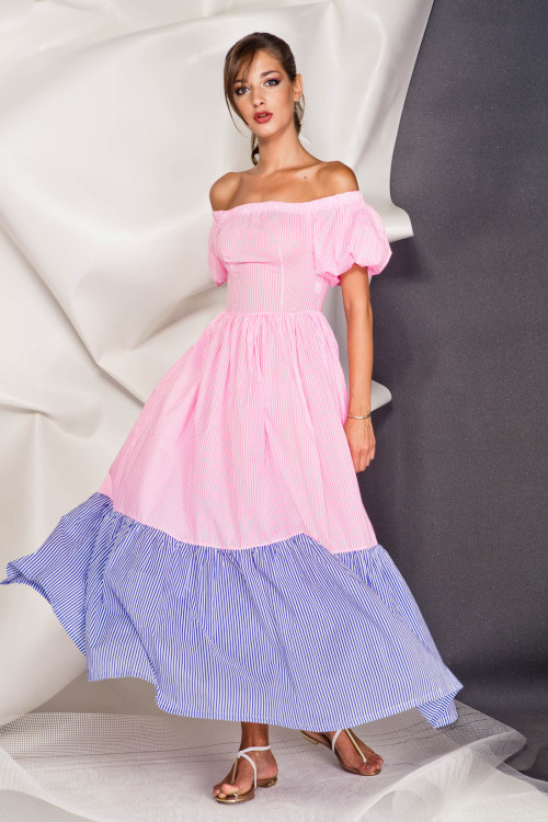 Платье 3375 розовый