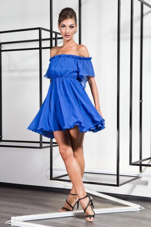 Платье 3358 электрик