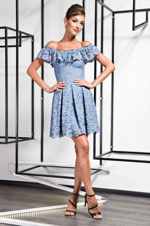 Платье 3371 джинс