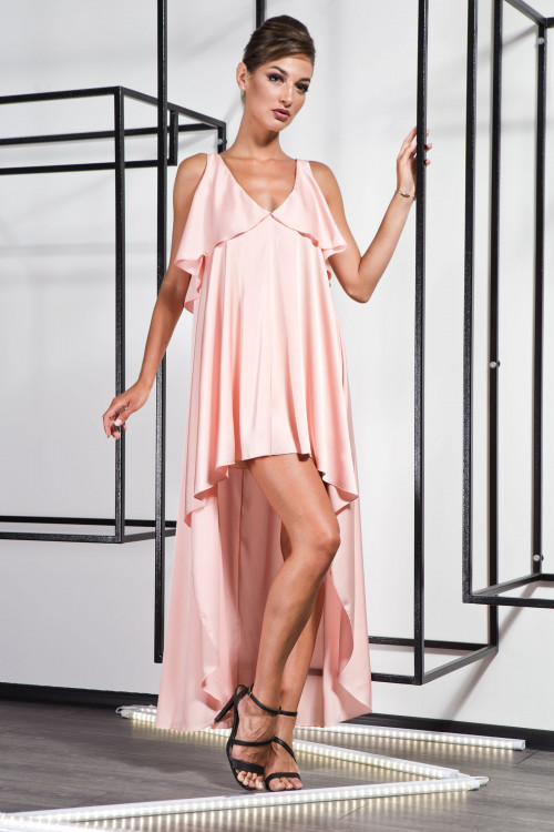Платье 3370 персик