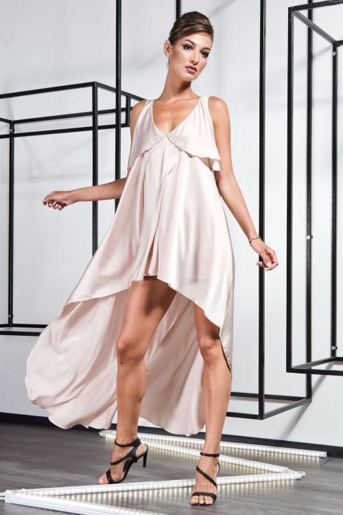 Платье 3370 бежевый