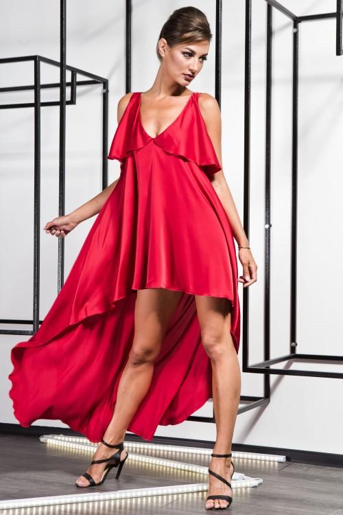 Платье 3370 коралл
