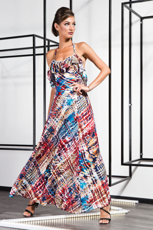 Платье 3368 синий