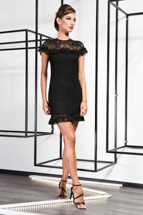 Платье 3365 черный
