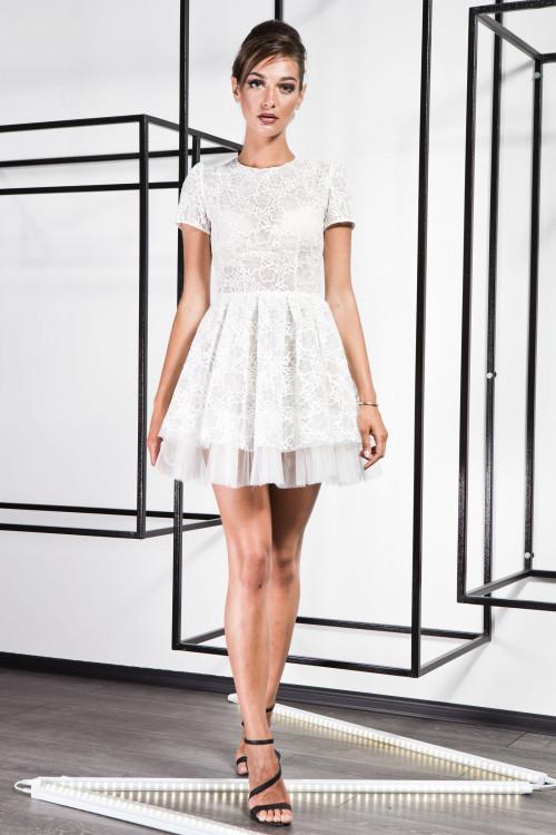 Платье 3367 белый