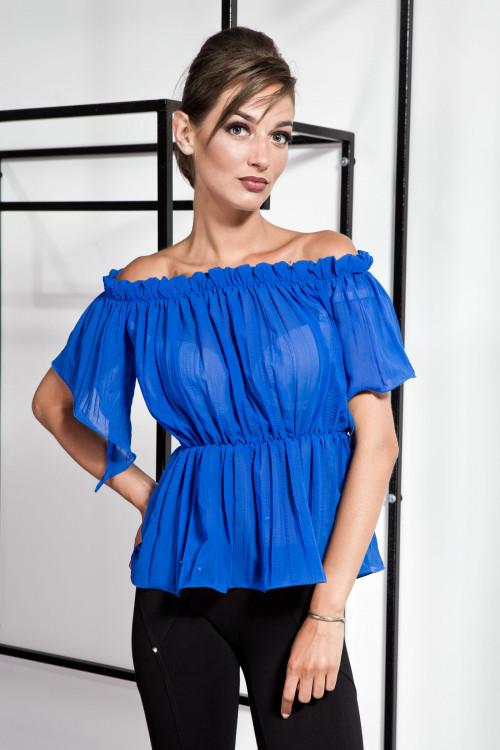 Блузка 2088 синий