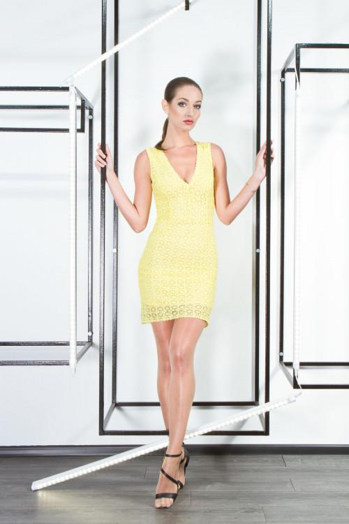 Платье 3357 желтый