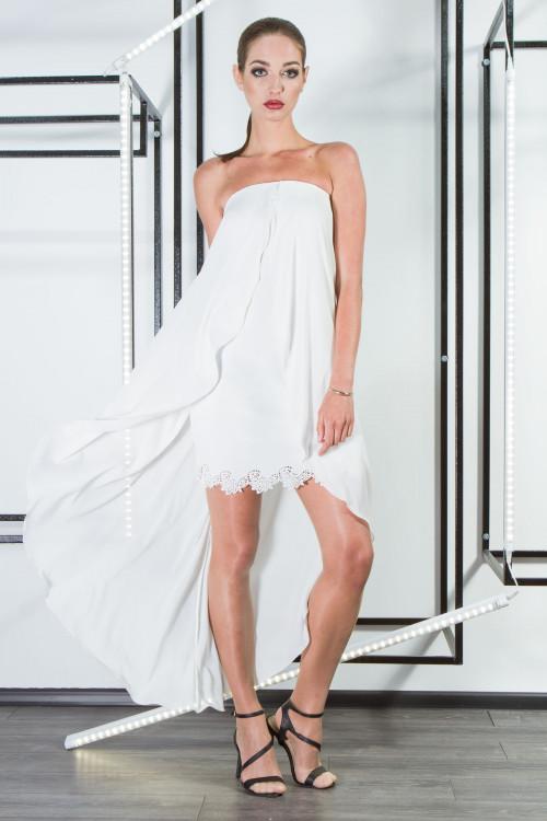 Платье 3311  белый