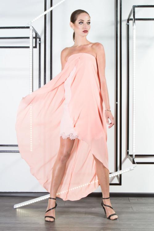 Платье 3311 персик