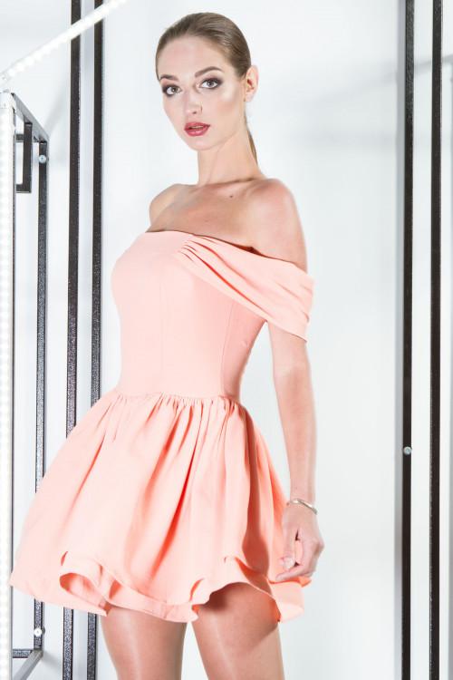 Платье 3300 персик