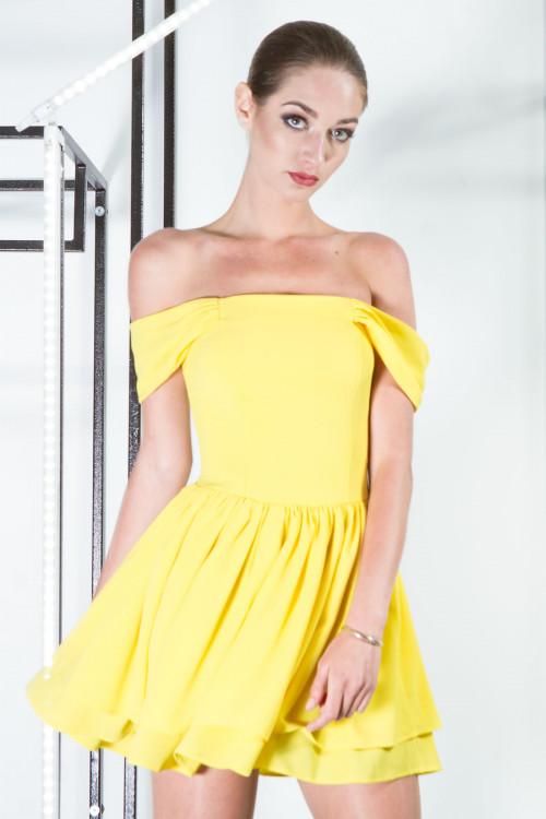 Платье 3300 желтый