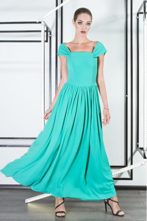 Платье 3301 бирюза