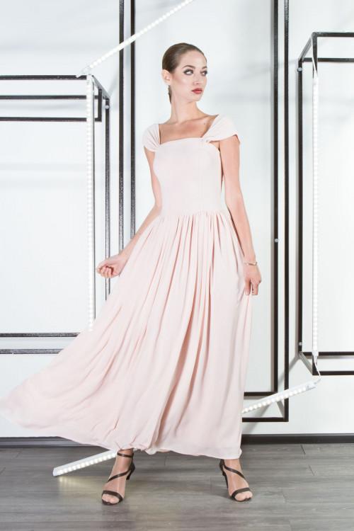 Платье 3301 персик