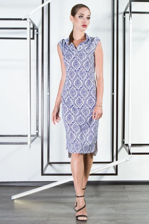 Платье/рубашка 3302 лен