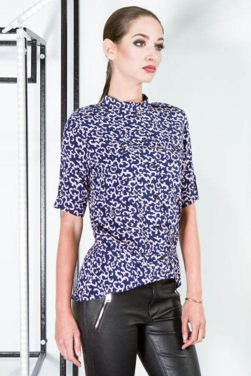 Рубашка 2052 бежевый