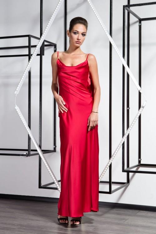 Платье 3360   марсал