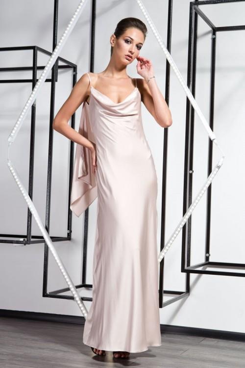 Платье 3360  бежевый
