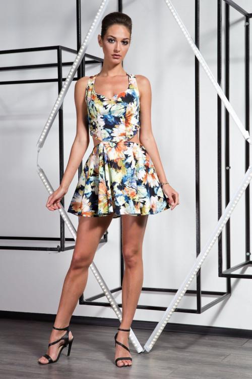Платье 3246 желтый