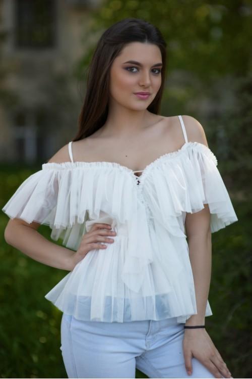 Блуза 2096 белый