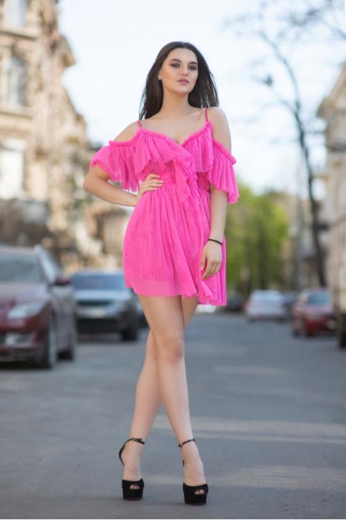 Платье 3416 розовый