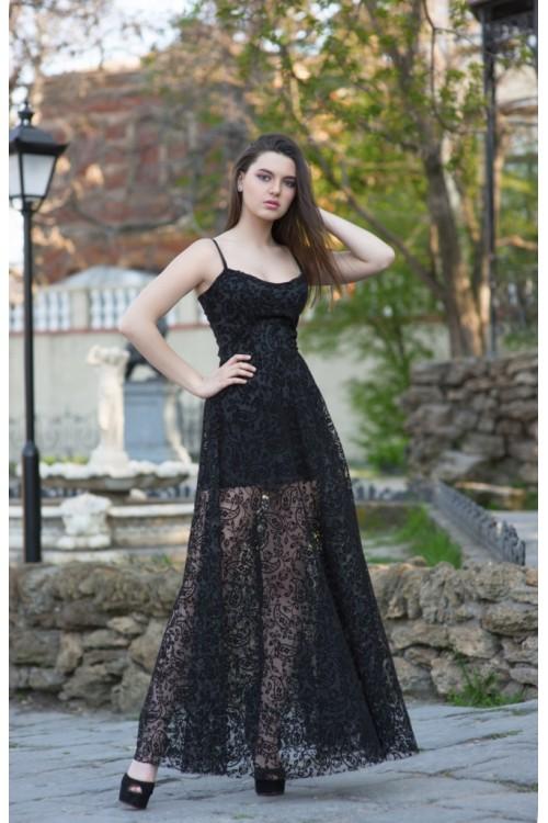 Платье 3414 черный