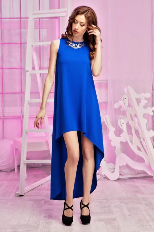 Платье 60-01 электрик