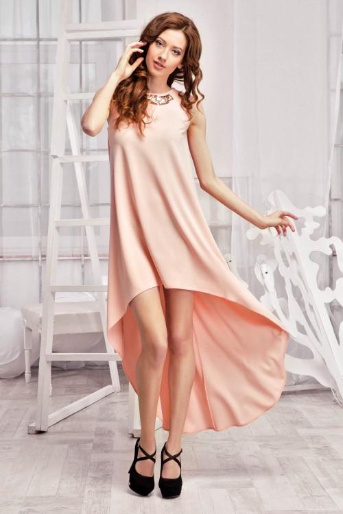 Платье 60-01 пудра