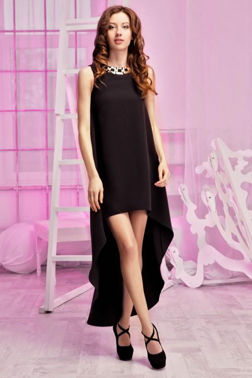 Платье 60-01 черный