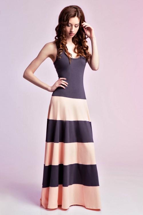 Платье 93-01 полоска