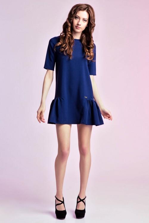 Платье 83-01 синий