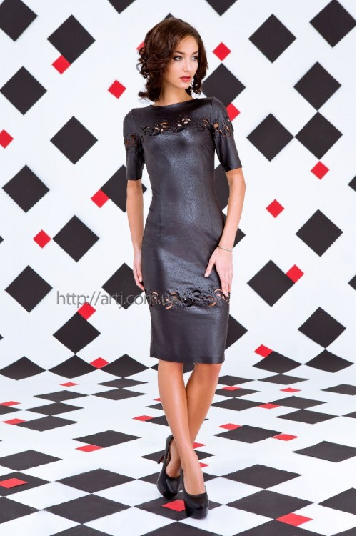 Платье 3258 черный