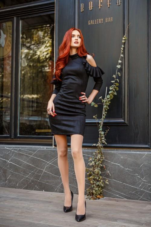 Платье 3406 черный