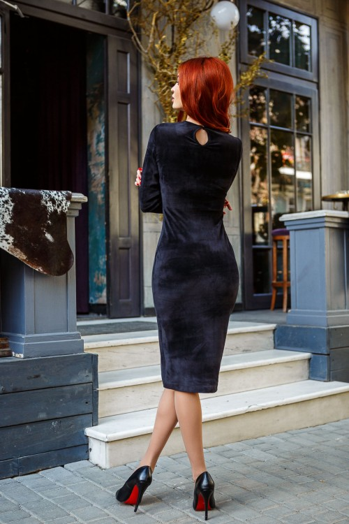 Платье 3403 черный