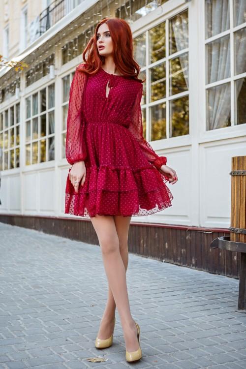 Платье 3354 марсал