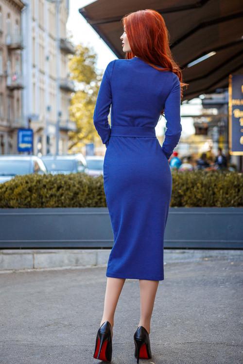 Платье 3434 синий