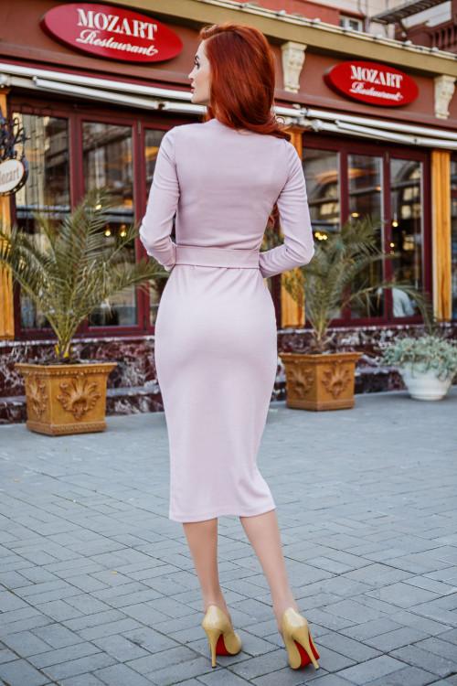 Платье 3434 пудра