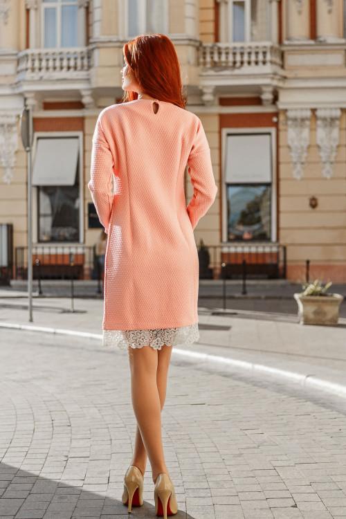 Платье 3350 пудра