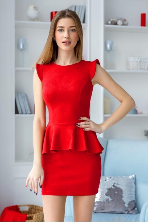 Платье 3400 красный