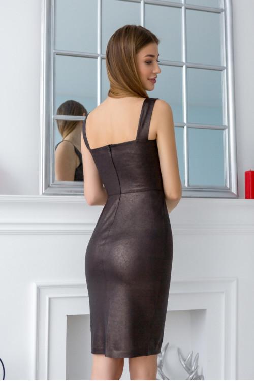 Платье 3431 бронза