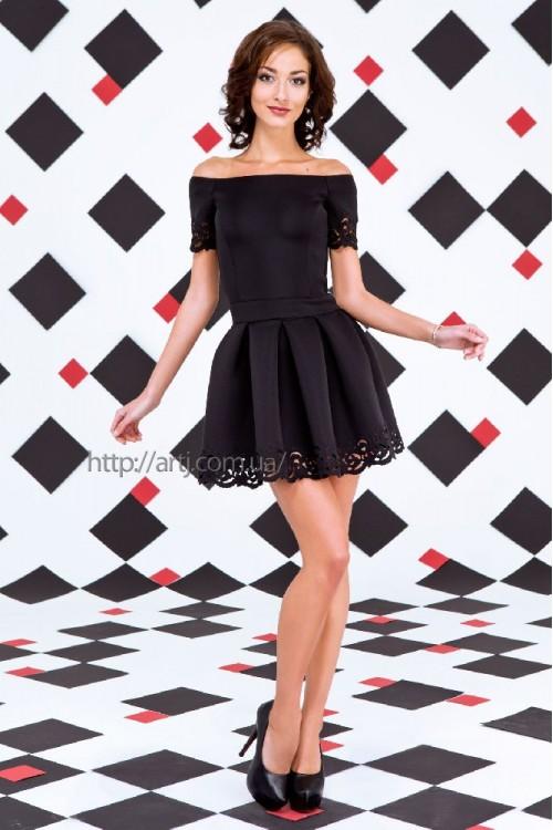 Платье 3259  черный