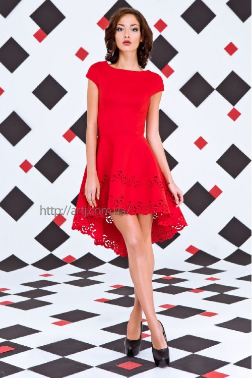 Платье 3255 красный