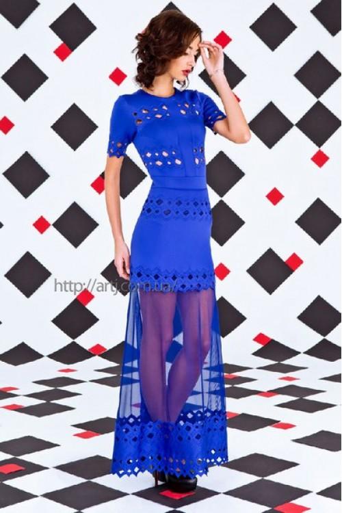 Платье 3254 электрик