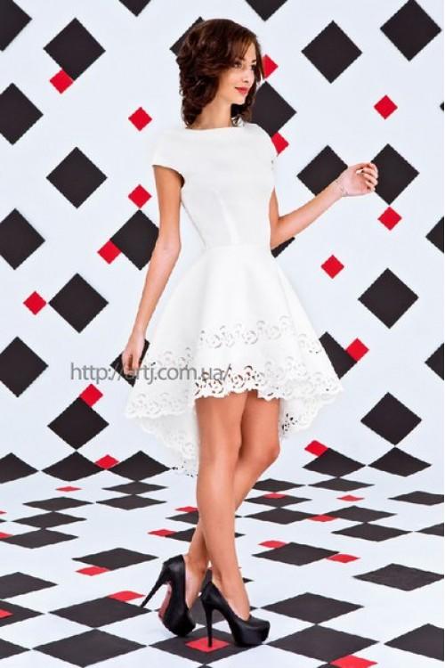 Платье 3255 белый