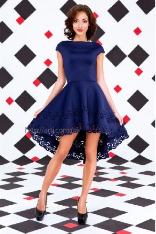 Платье 3255 темно-синий