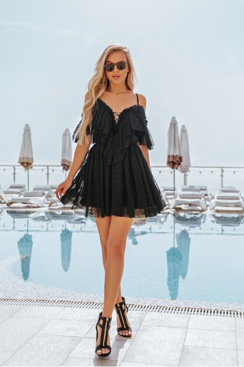 Платье 3416 черный