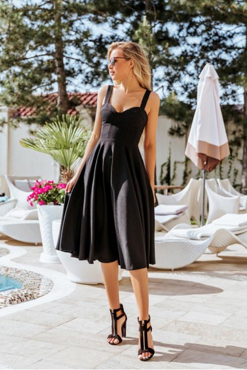 Платье 3460 черный